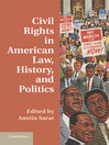 Civil Rights in American Law, History, and Politics (eBook)